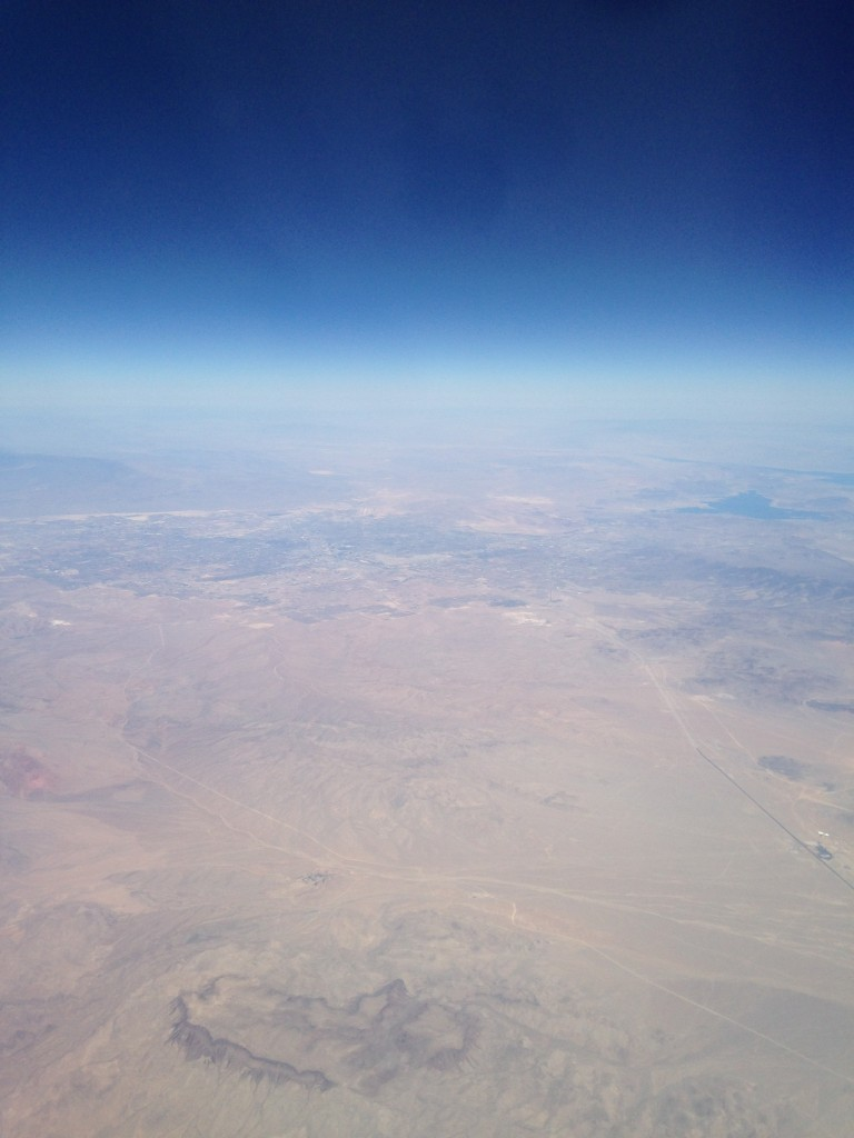 "Arizona looks like the opening to a ""Star Wars"" movie from 30,000 feet in the air."